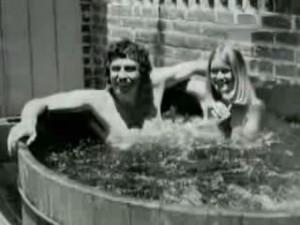 Der Whirlpool, der 1973 angeschafft wurde.