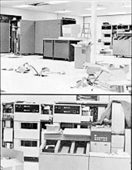 Das Rechenzentrum von Atari. Die IBM 370148 zog hier 1978 ein.